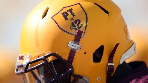 Pat Tillman Yellow Helmet