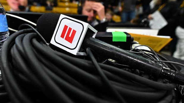 ESPN microphone.