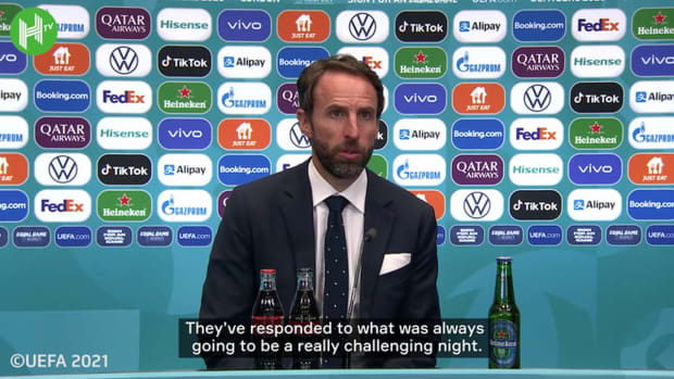 Southgate on what Euro 2020 final means, and thoughts on Sterling penalty