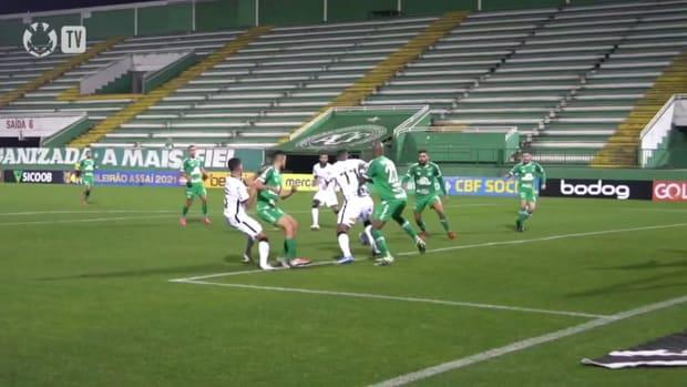 Corinthians beat Chapecoense in the tenth round of 2021 Brasileirão Série A