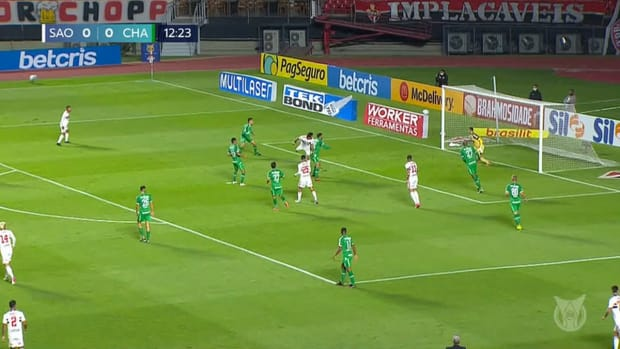 Eder's first goal at Sao Paulo