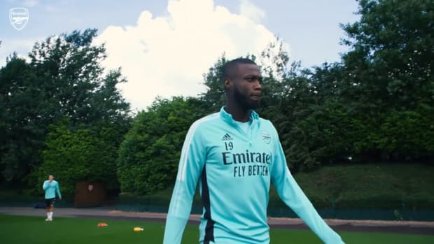 Partey and Pépé lead first Arsenal training of 2021-22