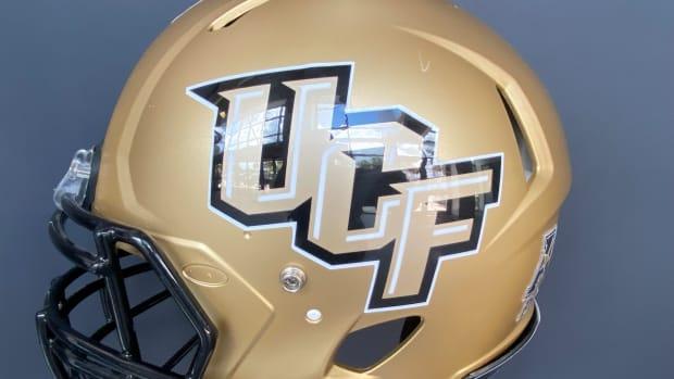 UCF Gold Helmet