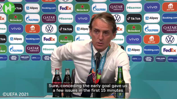 Mancini happy for Italians everywhere after delivering Euro 2020 title