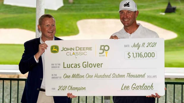 Lucas Glover, 2021 John Deere Classic Champion