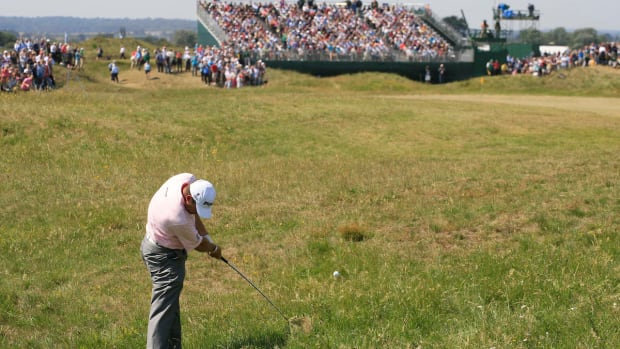 Lee_Westwood_140thOpen Championship Royal St George's GC - Round 2 - 894