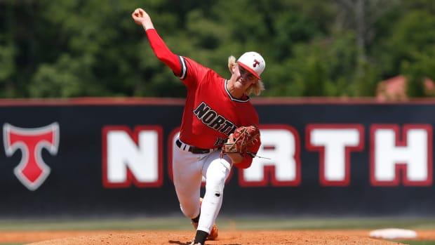 Bubba Chandler pitching.