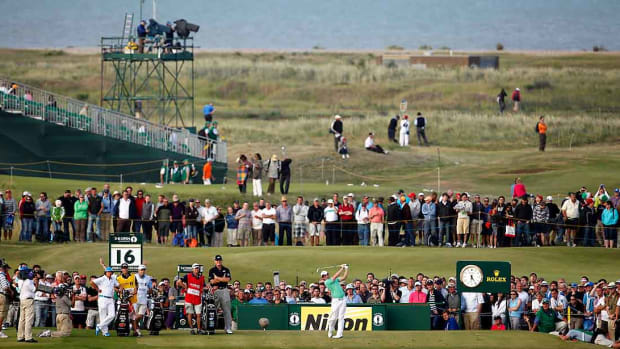 Rory McIlroy, 2011 Open Championship, Royal St. George's