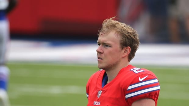 Bills kicker Tyler Bass became more consistent as the 2020 season wore on.