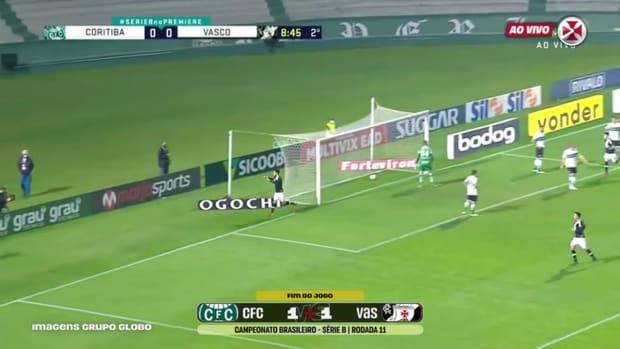 Vasco draw against Coritiba at Couto Pereira