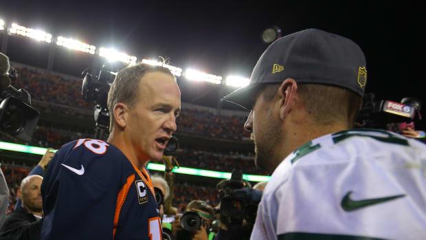 Peyton Manning, Aaron Rodgers