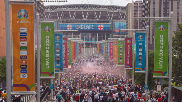 England hosted the Euro 2020 final
