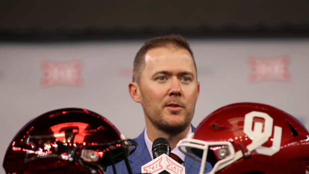 Lincoln Riley MD Helmets 12