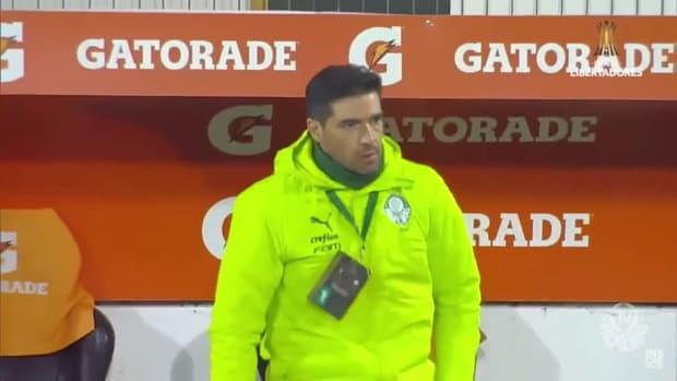 Raphael Veiga's goal against Universidad Católica