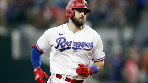 Rangers OF Joey Gallo hits home run