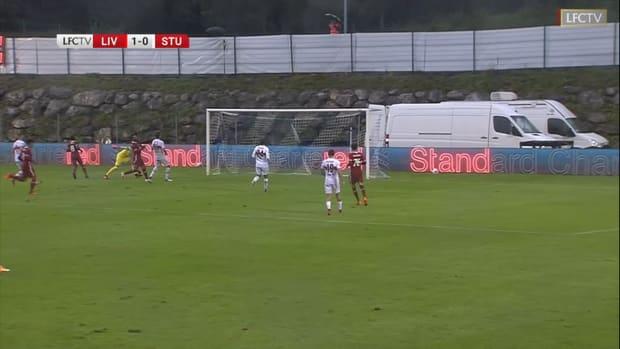 Naby Keïta fires home against Stuttgart