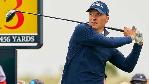 Jordan Spieth, Round 1, 2021 British Open