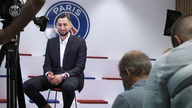 Behind the scenes: Gianluigi Donnarumma joins PSG