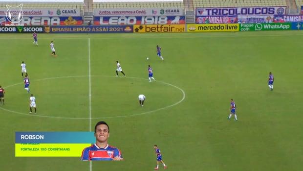 Top three goals of 2021 Brasileirão's Week 11