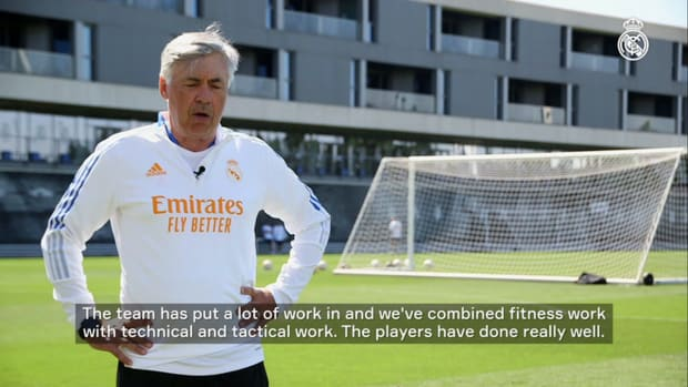 Carlo Ancelotti: 'We have to play a high-energy, high-intensity game'