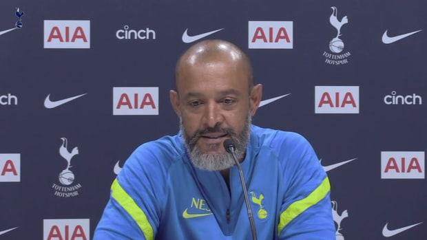 Nuno Espirito Santo's first press conference