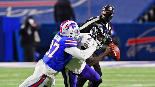 Mario Addison wasn't as effective as the Bills hoped he'd be last season.