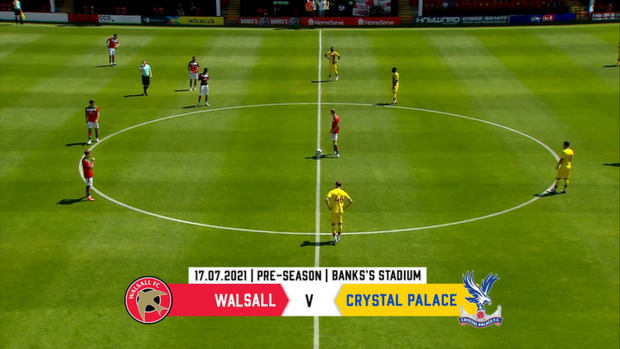 Highlights of Patrick Vieira's first win as Palace boss