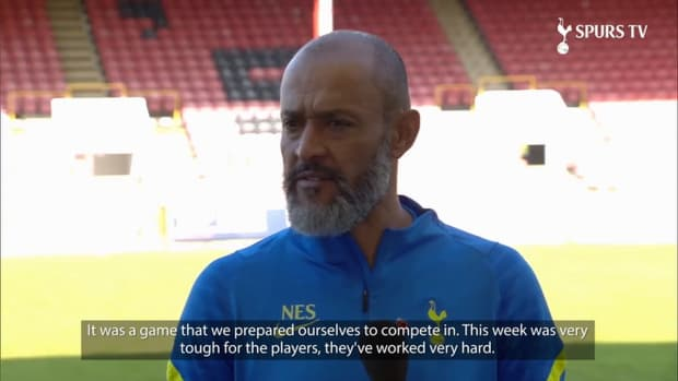 Nuno Reflects on first game in charge of Spurs