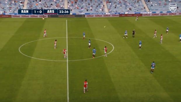 Nuno Tavares scores in draw against Rangers