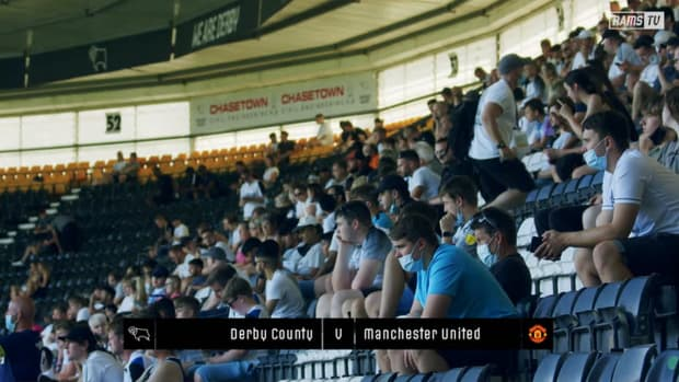 Highlights of Derby's pre-season game against Manchester United