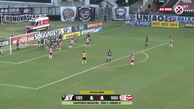 Vasco draw against Náutico at São Januário