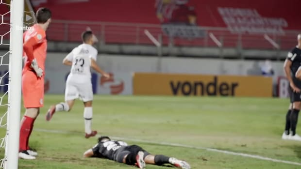 Santos draw against Red Bull Bragantino at Nabi Abi Chedid