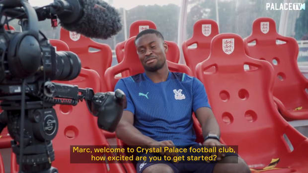 Marc Guehi's first Crystal Palace interview