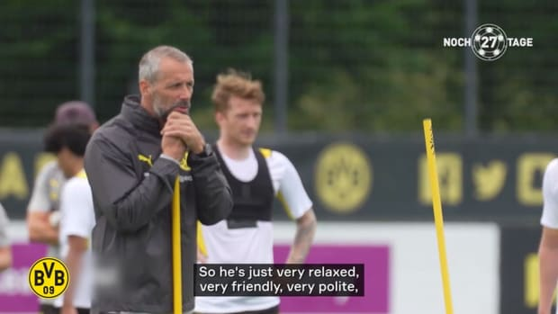 Marco Reus on Rose: 'I think he will have a lot of fun here'