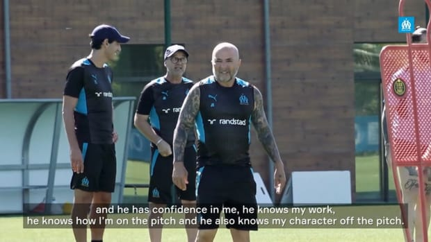 Luan Peres on having Sampaoli as a manager