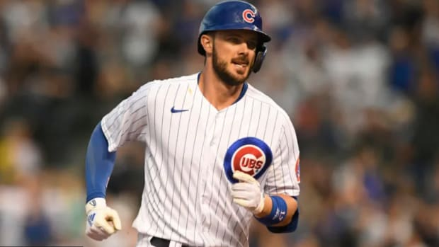 """The Mets are looking to make a """"big splash"""" at the trade deadline and have their eyes on Kris Bryant and Jose Berrios."""