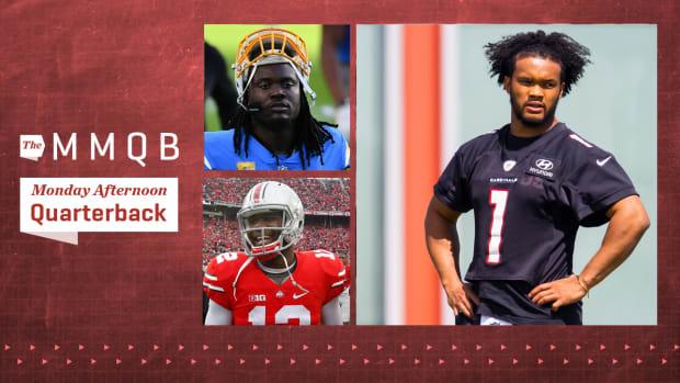 Monday Afternoon Quarterback column: Kyler Murray, Melvin Ingram, Cardale Jones