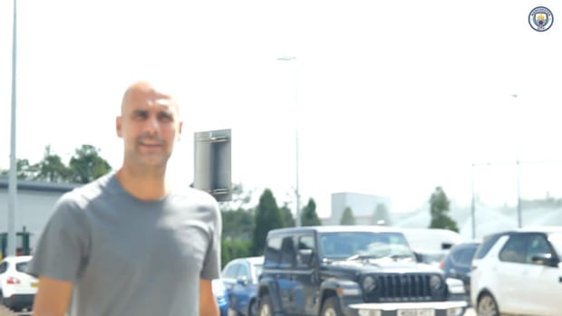 Manchester City stars return to pre-season training