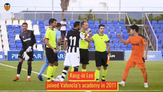 Kang-in Lee's rise through Valencia's academy