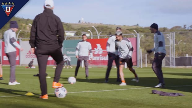 Liga de Quito prepare for second leg against Grêmio