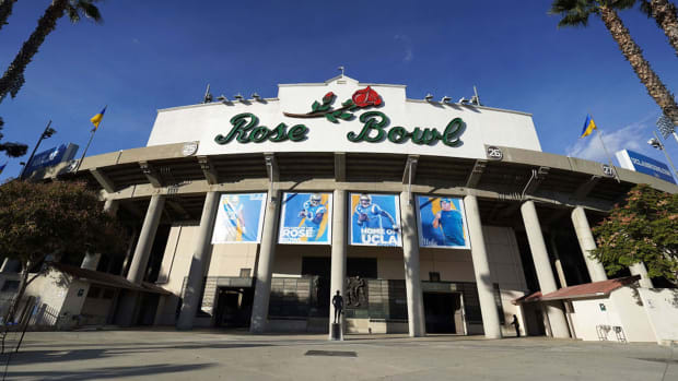 View of the Rose Bowl exterior