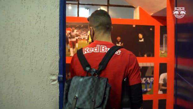Behind the scenes of Red Bull Bragantino draw vs Santos
