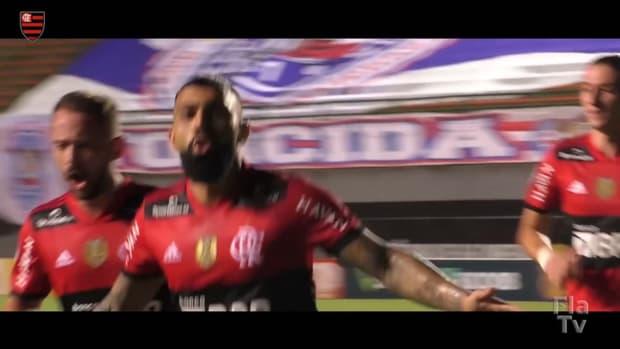 Flamengo smash five past Bahia at Fonte Nova