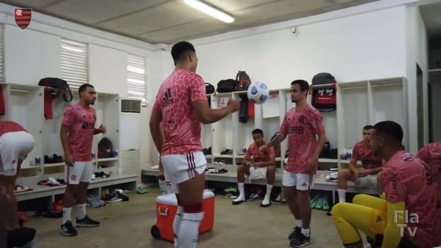 Behind the scenes of Flamengo's away victory against Bahia