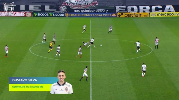 Top three goals of 2021 Brasileirão's Week 12