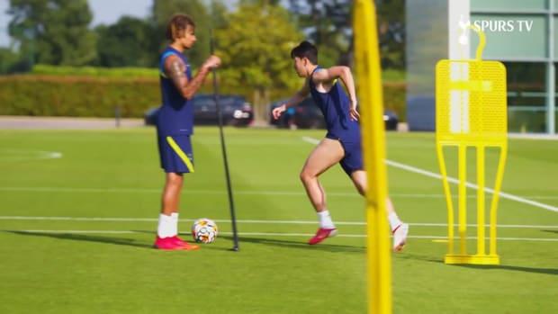 Heung-Min Son returns to pre-season training