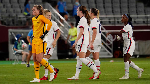 The USWNT loses to Sweden at the Olympics