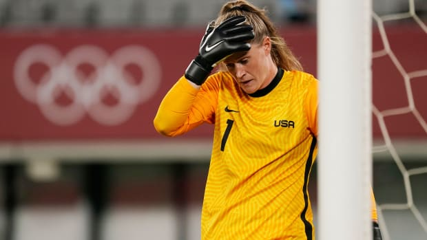 Alyssa Naeher and the USWNT lose to Sweden at the Olympics