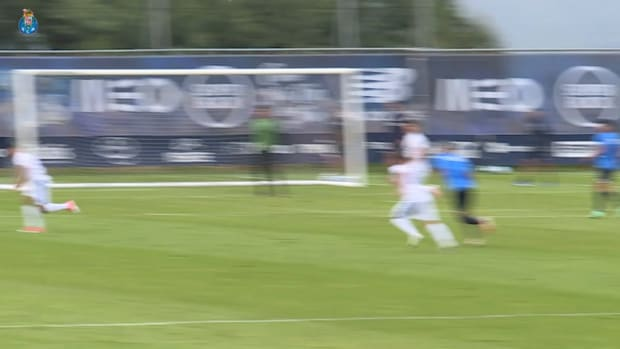Evanilson scores in FC Porto's training match vs Anadia