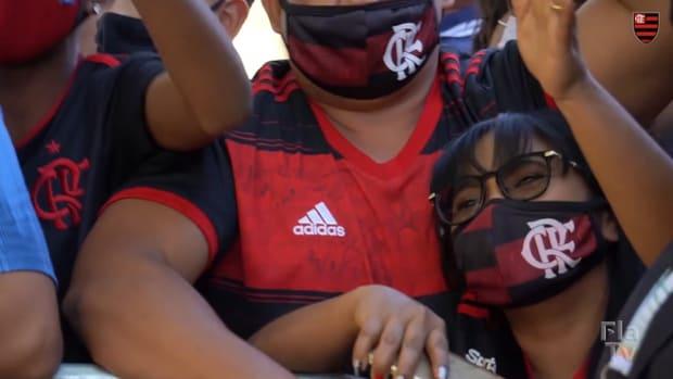 Flamengo's last training session before Defensa y Justicia clash